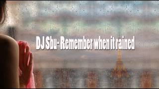 Dj Sbu - Remember When It Rained
