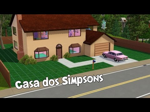 The Sims 3 | Construindo a Casa dos Simpsons (Simpsons House)