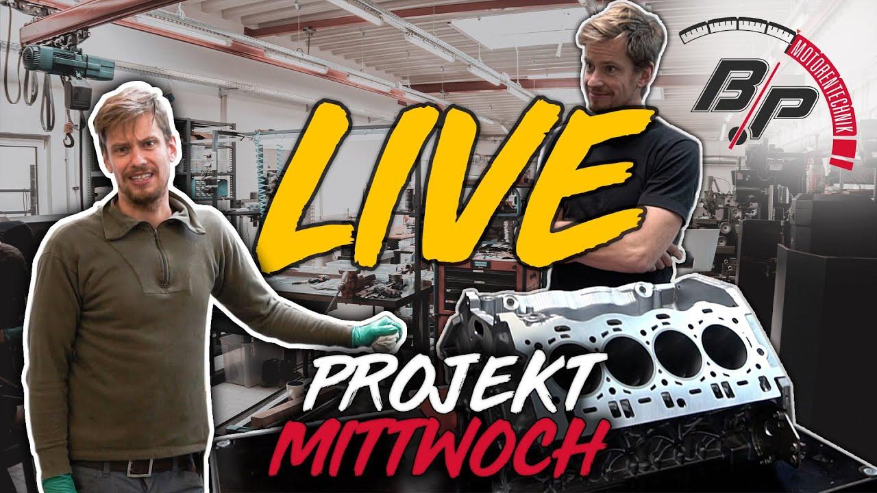 CHAOS LIVESTREAM... Unser Erster Versuch | Projekt Mittwoch Live | BP Motorentechnik