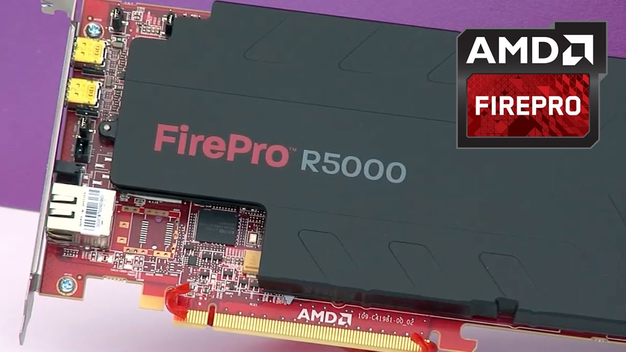 Remote Workstations Powered By AMD FirePro™ R5000 Remote Graphics Card