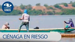Químicos de Aguas de Barrancabermeja tienen en peligro ciénaga de San Silvestre | Noticias Caracol