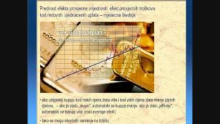 ZLATO - štednja u gramskom zlatu već od 50 EUR / MJESEČNO