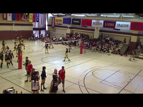 Super APAC Volleyball 2017, Day 2, CA vs BRENT