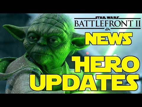Star Wars Battlefront 2 | News Update | HERO UPDATES | LIGHTSABERS | Rey, Palpatine, Boba | SKINS