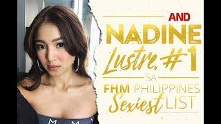 Nadine Lustre, No. 1 sa FHM Philippines Sexiest List
