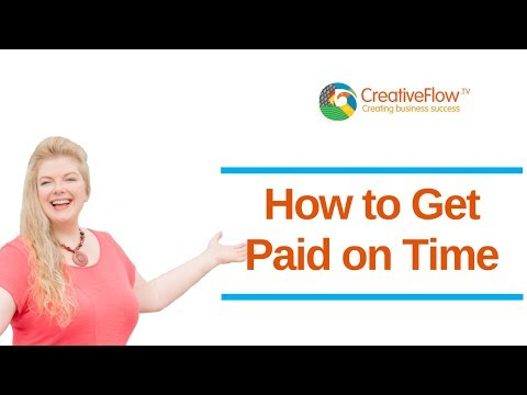 How to Get Paid on Time - Call Una at +44(0)7766 917890