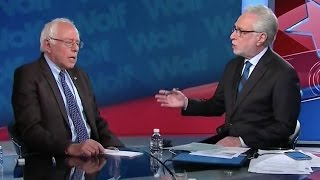 Watch This Interview Between Bernie Sanders And Jake, Er, Wolf Blitzer