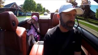 2009 bmw e93 m3 review by my 5yr old girl