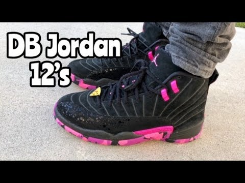 "Air Jordan 12 ""Doernbecher"" ""DB12"" on feet - YouTube f342f3877"