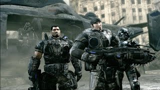 Gears of War - Intro & Mission 1 Gameplay HD