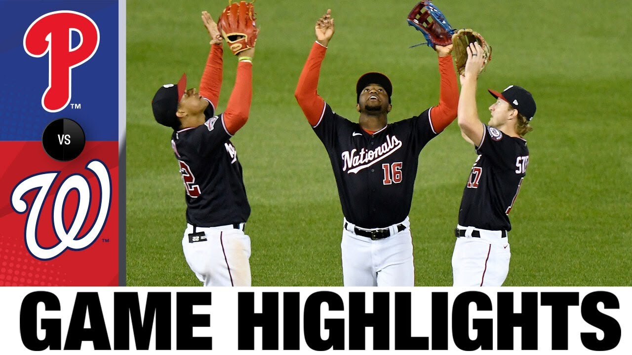 Cabrera, Holt leads the Nationals to a 5-1 win | Phillies-Nationals Game Highlights 9/21/20