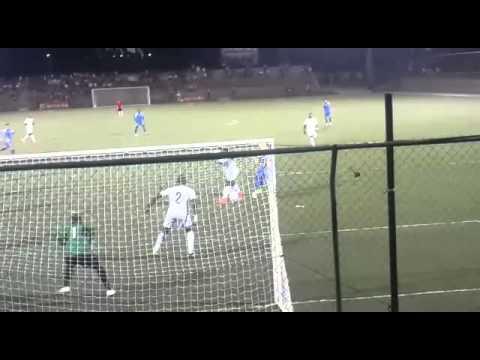 Gol de Nicaragua vs Surinam
