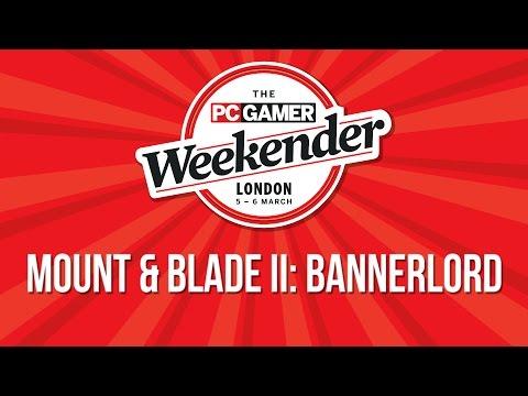 PC Gamer Weekender - Mount & Blade II: Bannerlord presentation with gameplay