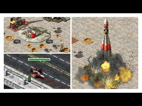 Red Alert 2 Experiments, bugs and glitches of Yuri's Revenge with Repair Depot and More!