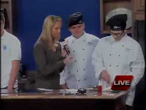 KSPR cooks with Glendale High School Springfield Missouri