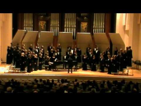 Baylor University A Cappella Choir - Fall Concert 2011
