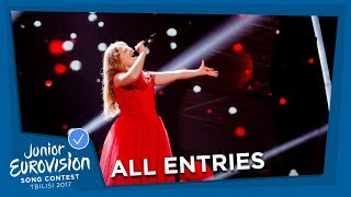 All Junior Eurovision songs from Serbia!