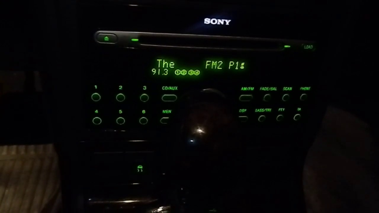 ford mondeo ghia 2006 mk3 probando el stereo sony cdx fc. Black Bedroom Furniture Sets. Home Design Ideas