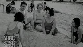 Cuban beaches, Playa de Marianao, Havana Cuba 1930