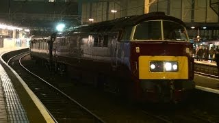 Uk diesel locomotive compilation 2010-2013 - with deltics, westerns & warships + many more