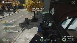 Payday 2: Bank Heist - Out of map bug (no advantage) [REPORTED TO OVERKILL]