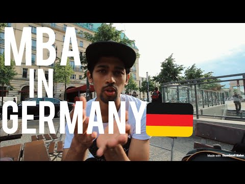 Let's talk about MBA IN GERMANY