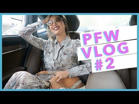 PFW Part 2: Off-White, Balmain, Margiela, Chloé, Loewe, Isabel Marant // Vlog #67 | Aimee Song
