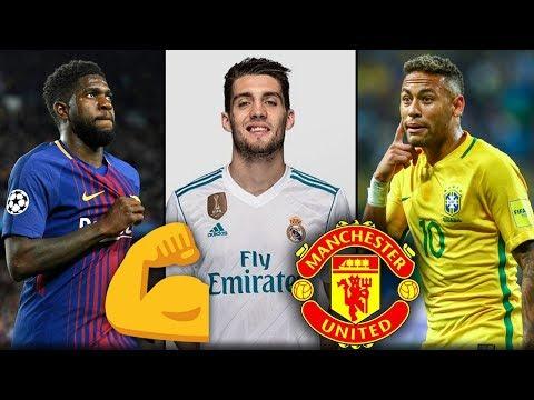 10 لاعبين سيتعاقد معهم مانشستر يونايتد هذا الصيف 2018ّّ | بينهم 2 من ريال مدريد