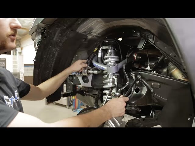 How to install UCA's and Coilovers on a Toyota Tacoma in 14 min