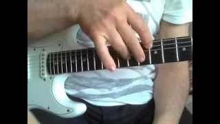 """Урок игры на гитаре. Теппинг. Композиция """"Весна"""" Часть 1. Рустем Билялов"""