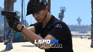 LSPDFR - Day 239 - Police Bicycle Patrol