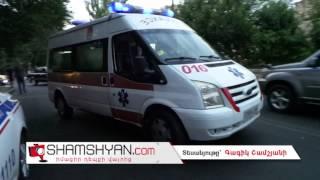 Երևանում 37 ամյա կին վարորդը տապալել է վճարովի ավտոկայանատեղիի ցուցանակն ու «ողջագուրվել» BMW ին
