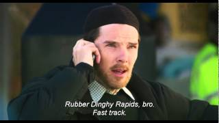 """Benedict Cumberbatch's scene in Four Lions - """"You're an arse man"""""""
