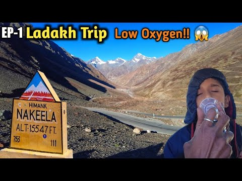 Download EP-1 Ladakh Road Trip | Manali to Ladakh drive in 1 day | How we managed low Oxygen levels