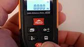 M1molter der heimwerker rzas50 digital laser entfernungsmesser