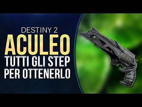 ACULEO, TUTTI gli Step per Ottenerla! | DESTINY 2 thumbnail