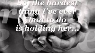 """Holding Her & Loving You""  W/Lyrics - Earl Thomas Conley"
