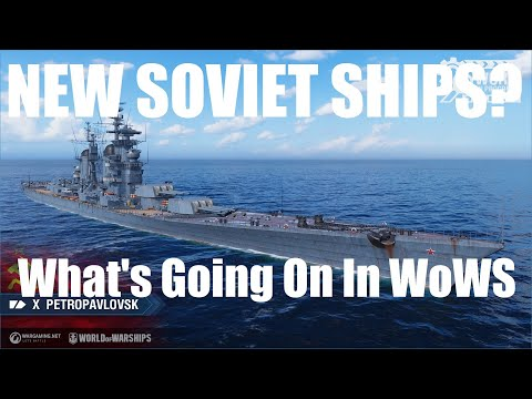 Another Soviet Line? A WoWS Update.