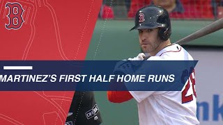 J.D. Martinez crushes 29 home runs in the first half