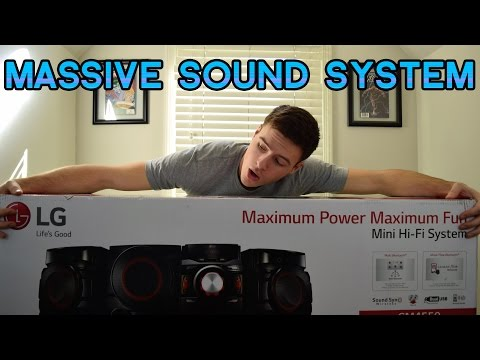 LG 700W Mini Shelf System Unboxing and Review  SETUP GEAR