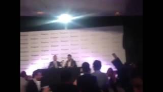 حفل تكريم موقع انغامي للنجم تامر حسني ٢