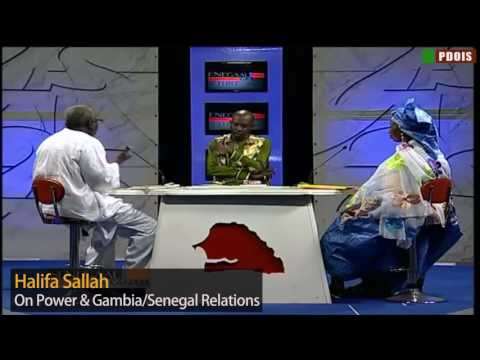 PDOIS - Halifa Sallah On Power & Gambia/Senegal Relations