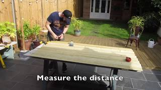 MAKING A GARDEN GATE WITH BASIC TOOLS