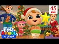 Мультик Про Новый Год И Рождество 🎄🎅 | Развивающие Песенки Для Детей | Little Angel Русский
