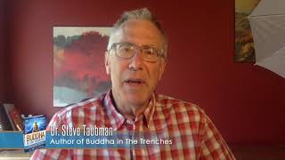 """Gambar cover TVGuestpert: Testimonial by Dr. Steve Taubman, author of """"Buddha in the Trenches"""""""
