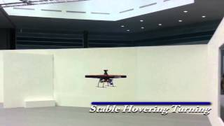 [NUS UAV] Indoor autonomous quadrotor with laser scanner, NUSLion