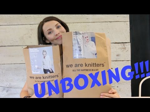 Kristy Glass Knits: We are Knitters Unboxing