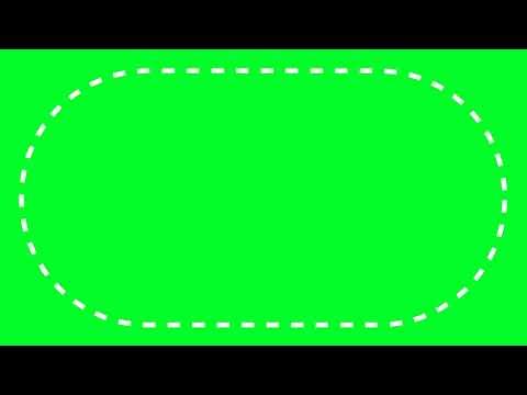 футаж - округлённая пунктир рамка, как у иш пич