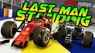 F1 2020 LAST MAN STANDING CHALLENGE AT SINGAPORE! Extreme Damage Survive Mod