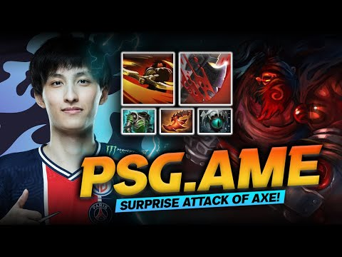 Dota 2 Axe Hard Carry Gameplay Patch 7.29D by PSG.LGD.Ame (萧瑟) - Shhhhh! Watch and Learn!